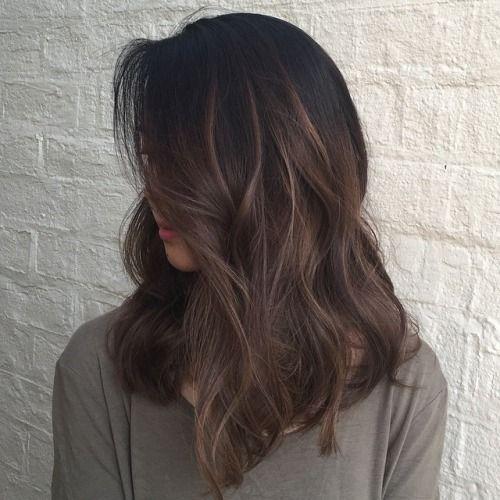 Hair By Choi Ce Hair Styles Long Hair Styles Medium Brunette Hair