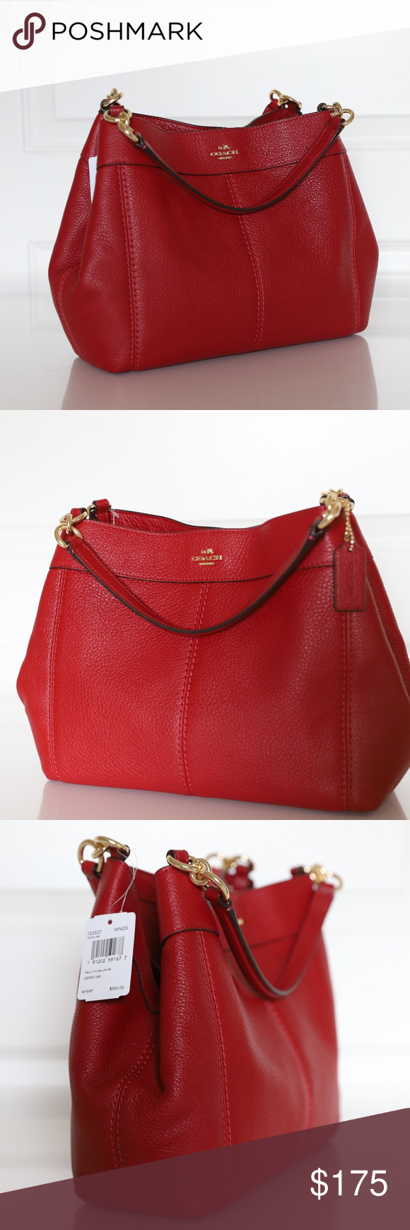 Coach F23537 Small Lexy Shoulder Bag New Coach F23537 Small Lexy Shoulder  Bag In Pebble Leather. Visit 019ba6924dc69
