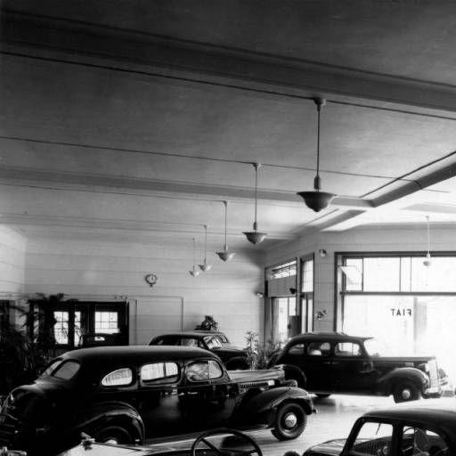 Packard-Fiat Dealership Showroom In Shanghai. Photo By