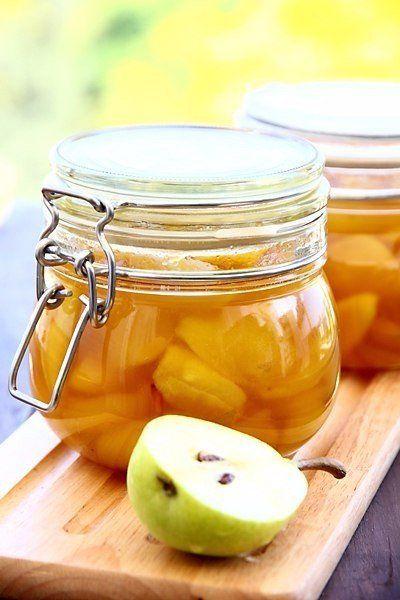 как приготовить джем из груш лимона и мандарина