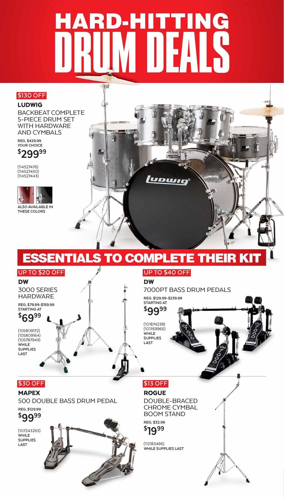 Guitar Center Black Friday Ad Scan, Deals and Sales 2019