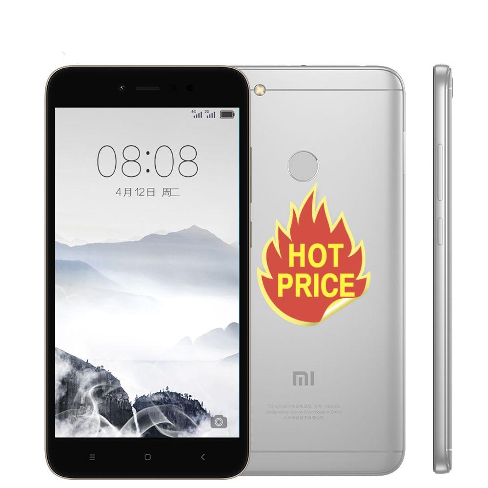 Xiaomi Redmi Note 5a 5 A 64gb Rom 4gb Ram Snapdragon 435 Cpu Smartphone Fdd Lte 4g 5 5 Hd 16mp Front Camera Fingerprint Id