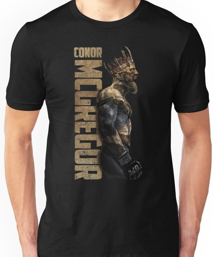 37946b4bacda Conor McGregor - Gold King Unisex T-Shirt | Products | Shirts, T ...