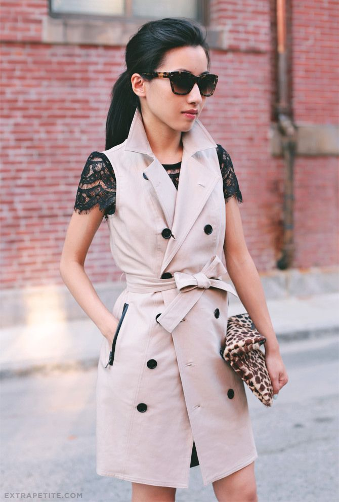 17 Best images about How to Wear: Sleeveless Vest Blazer Duster