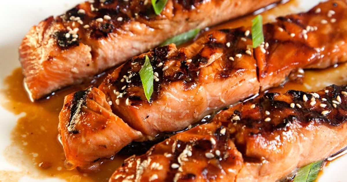 Salmon Teriyaki Recipe #salmonteriyaki