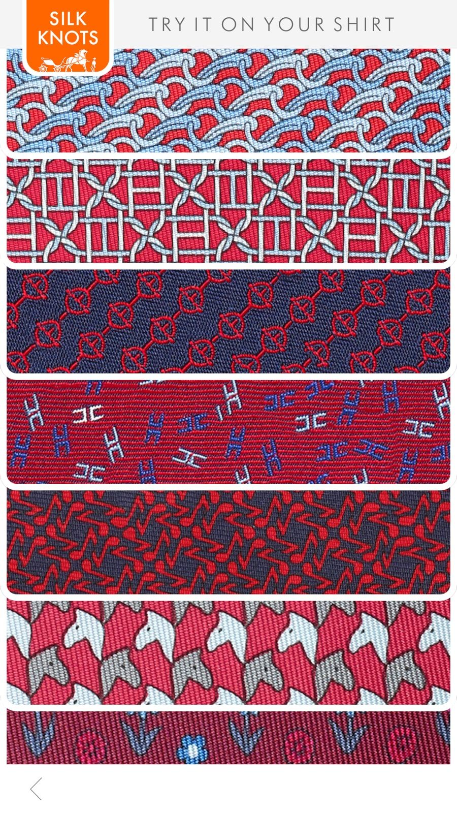 Hermès Silk Knots dans l'App Store