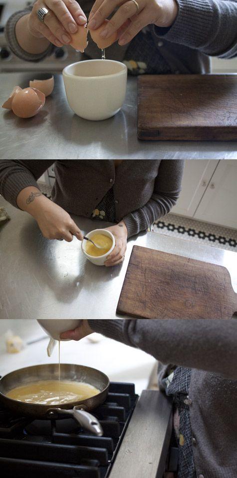 High Protein Recipes... Herb Cream Cheese Scrambled Eggs Recipe