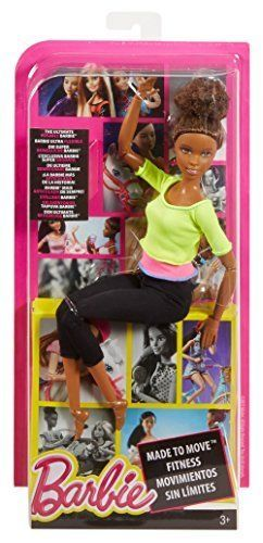 Fitness Barbie African American Doll Yoga Athletic Athlete Barbies