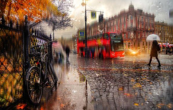 Питер, дождь, Екатерининский сад (с изображениями ...