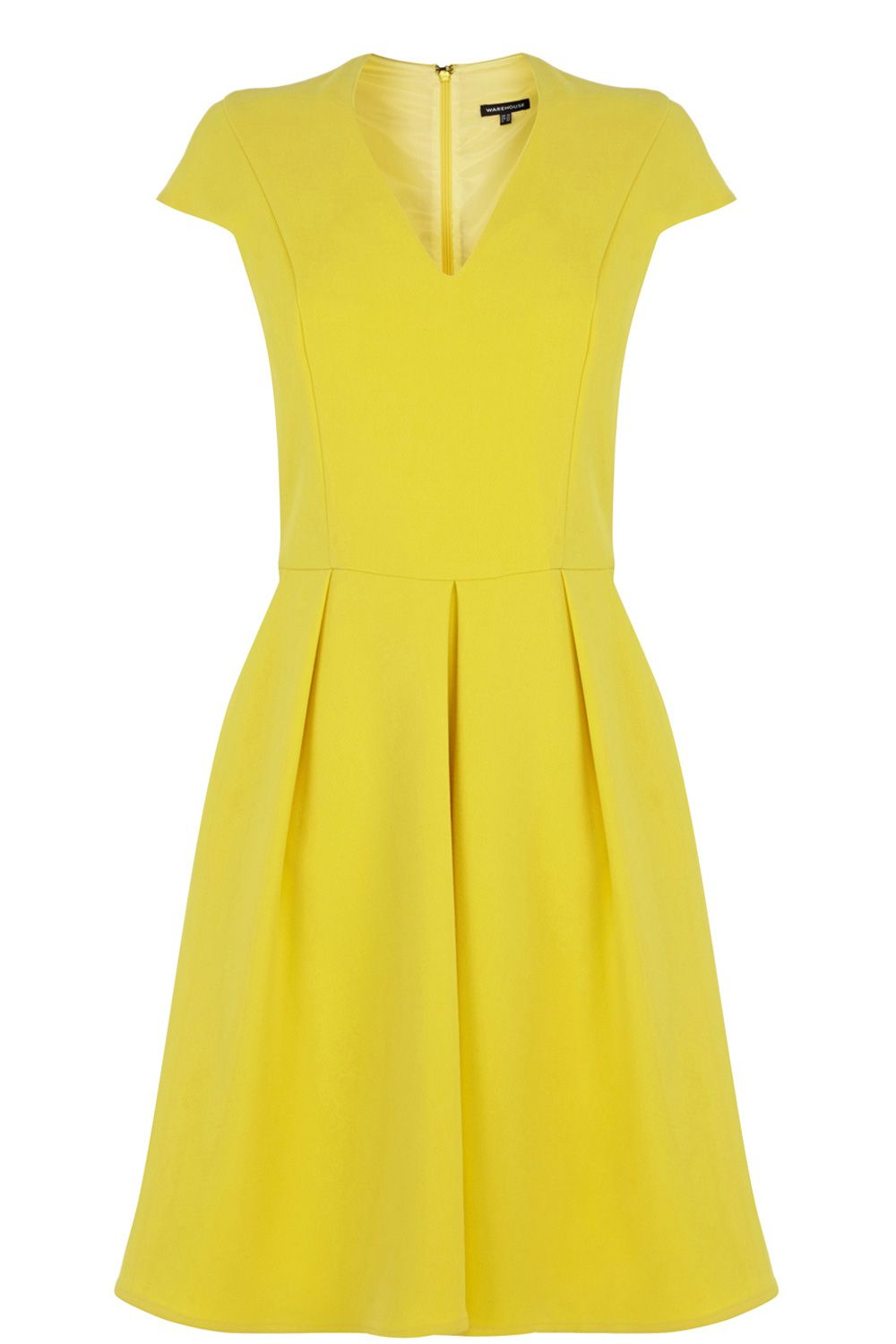 Love cap sleeves and yellow