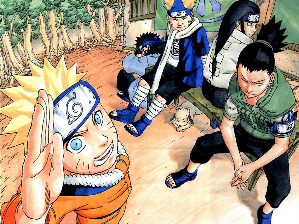 Naruto Kiba Choji Neji X Shikamaru Tv Naruto Naruto Art