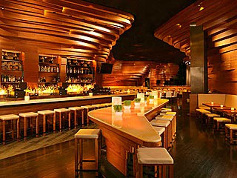 Modern Spectacular Hospitality Restaurant Interior Design Stack Bar
