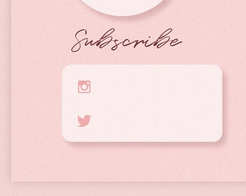 Youtube Intro End Screens In Pink The Pink The Sunday Etsy Youtube Banner Backgrounds Youtube Banners Youtube Banner Design