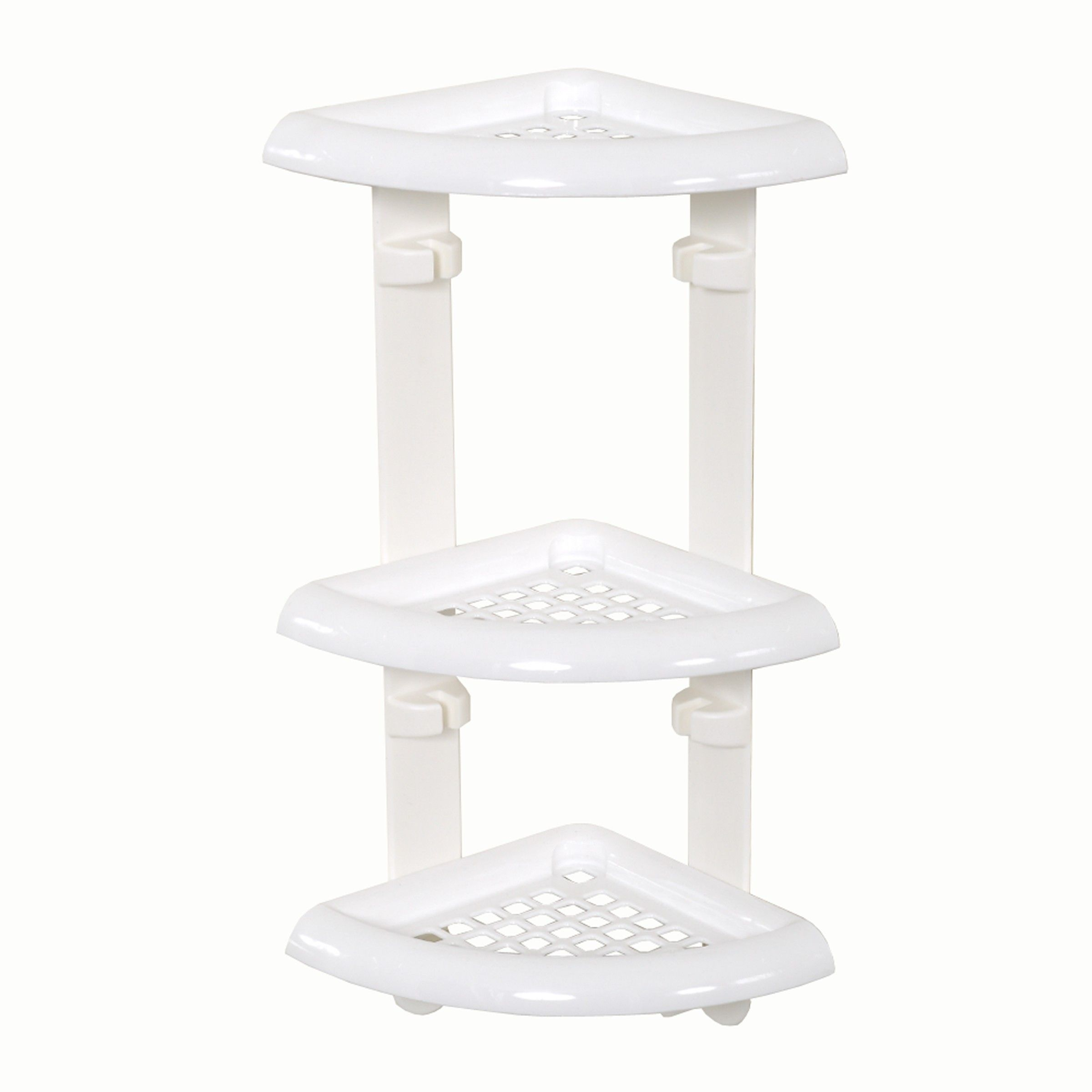 Three Tier Plastic Corner Shower Caddy - Zenith Products Corp. (ZPC ...