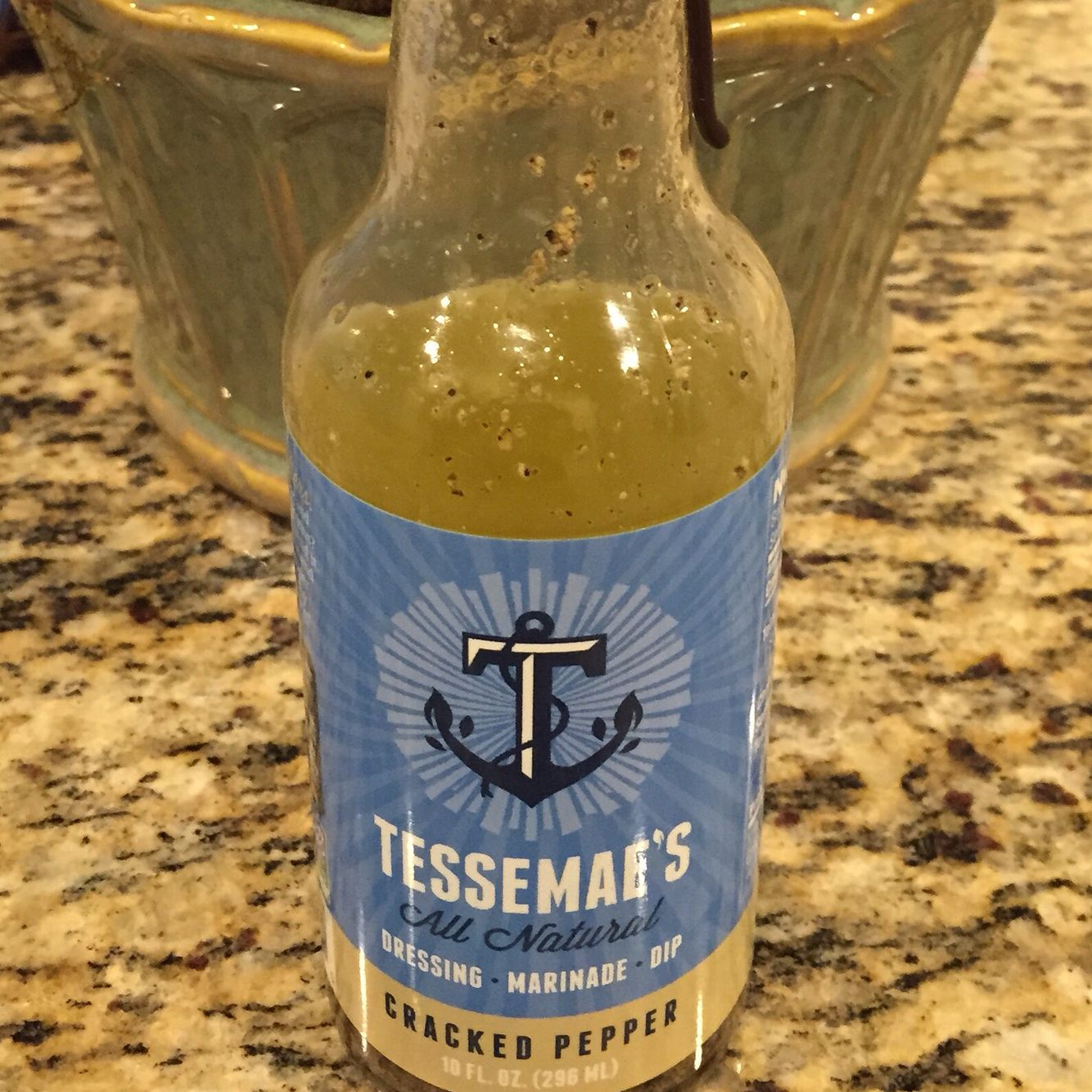 Tessa Mae's cracked pepper dressing-olive oil and lemon ...