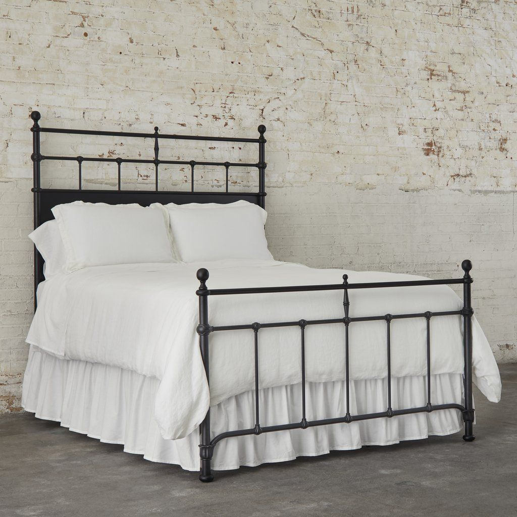 Trellis Metal Bed Magnolia With Images Metal Beds King