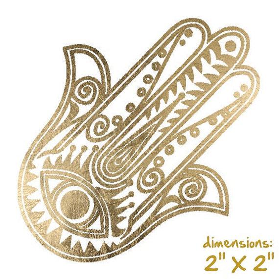 Hamsa Hand Jewelry Hamsa Hand Necklace Hamsa Hand by ShimmerTatts, $4.50