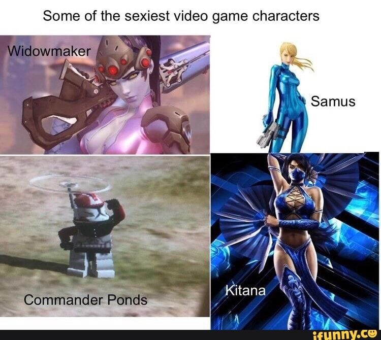 Some Of The Sexiest Video Game Characters Ifunny Star Wars Memes Funny Games Star Wars Humor