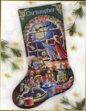 dimensions sunset stocking cross stitch - Google Search | X Stitch ...