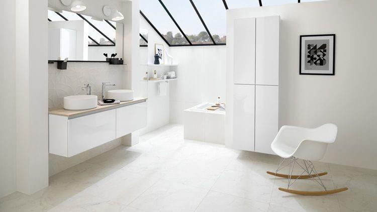 Aires Escandinavos Colección Moderno natural Este cuarto de baño - schmidt salle de bain