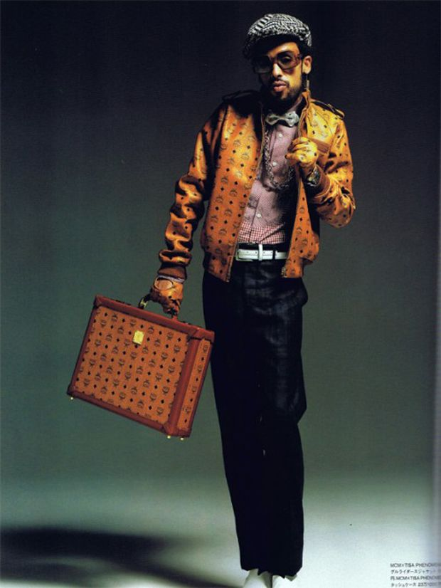 Taz Arnold In Mcm Blueprint For Beauties Mcm