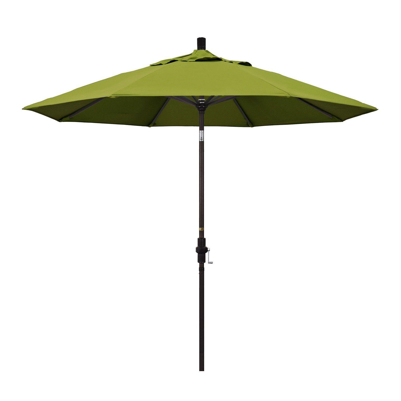 California Umbrella 9 Ft Olefin Aluminum Single Vent Tilt Market