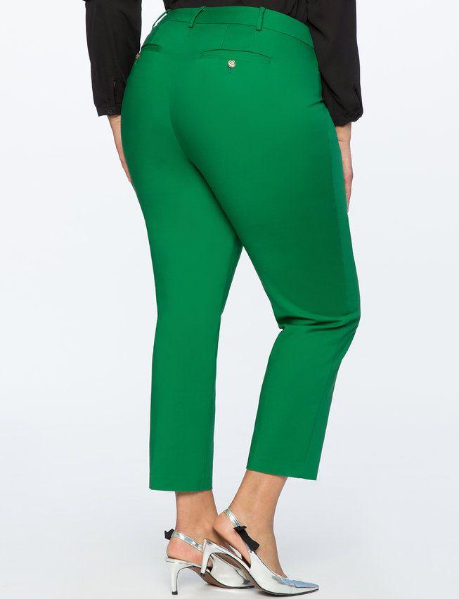 Photo of Regular Fit Kady Pant – Verdant Green