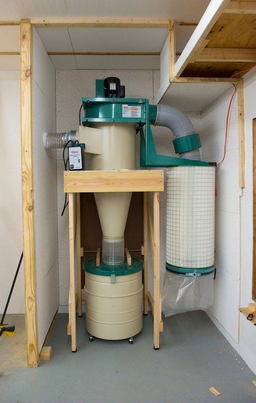 Dust Collection System Workshop In 2019 Shop Dust