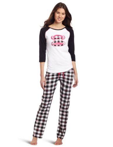 NWT Paul Frank Women/'s Just Julius Knit Pajama Sets 2 Pieces