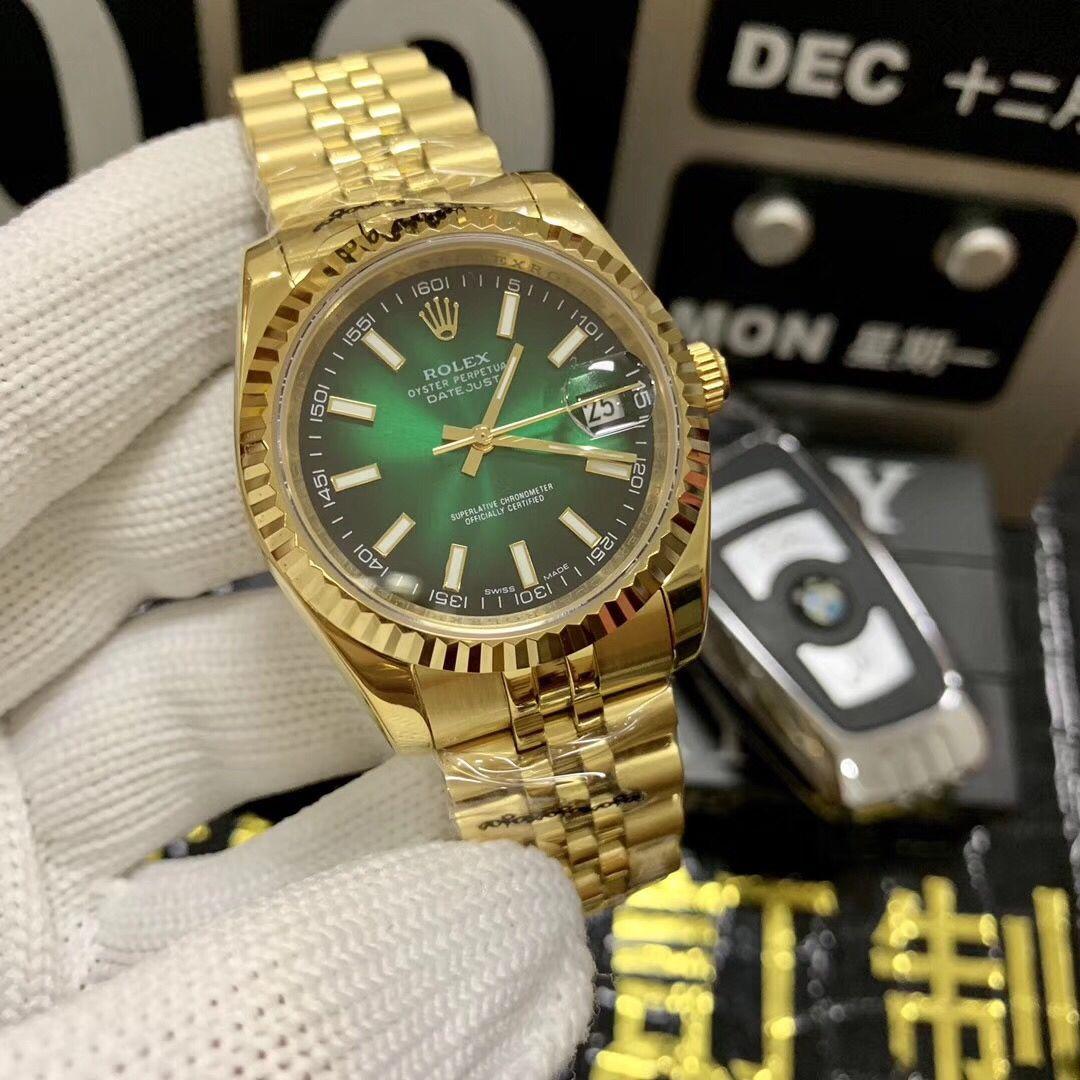 low priced 3c1e6 f0d04 ロレックス 時計 中古 激安-グリーン ゴールド ログシリーズ ...