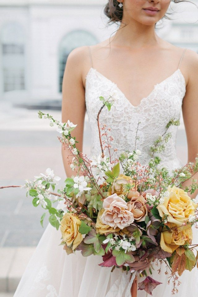 Grand Romance The stately Grand America Hotel sets the stage for dreamy florals worthy of your happily-ever-after.