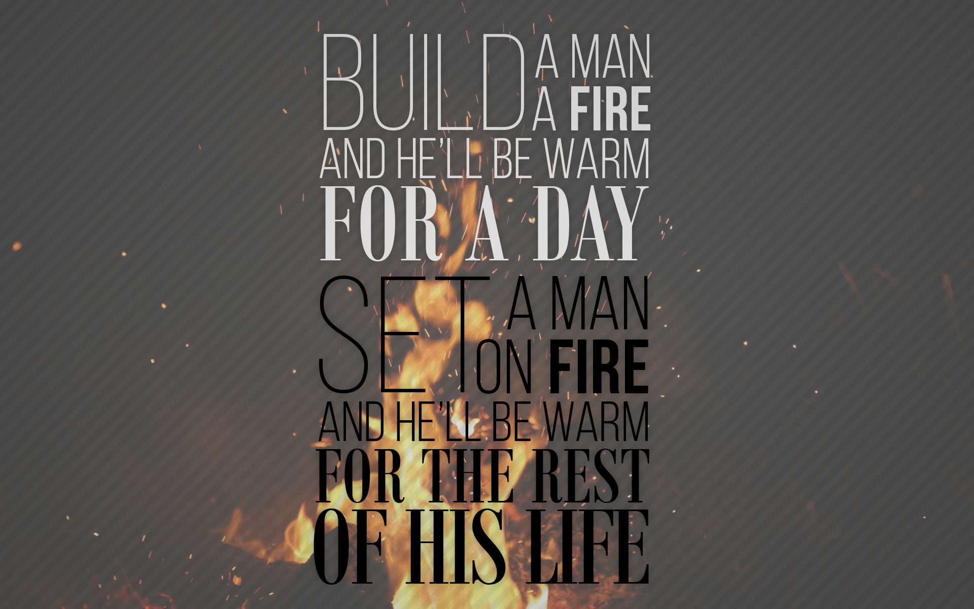 Build a man a fire [1920x1080] Need iPhone 6S Plus