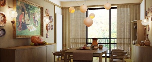 15 Gorgeous Dining Room Curtains via @homedesignlover