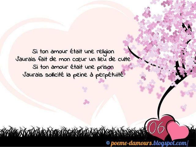 Poèmes Damour En Images Poesie D Amour Beau Texte D