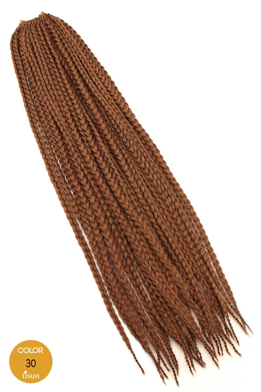 Zury Synthetic Crochet Braiding Hair Box Medium Braids 22 Color 30