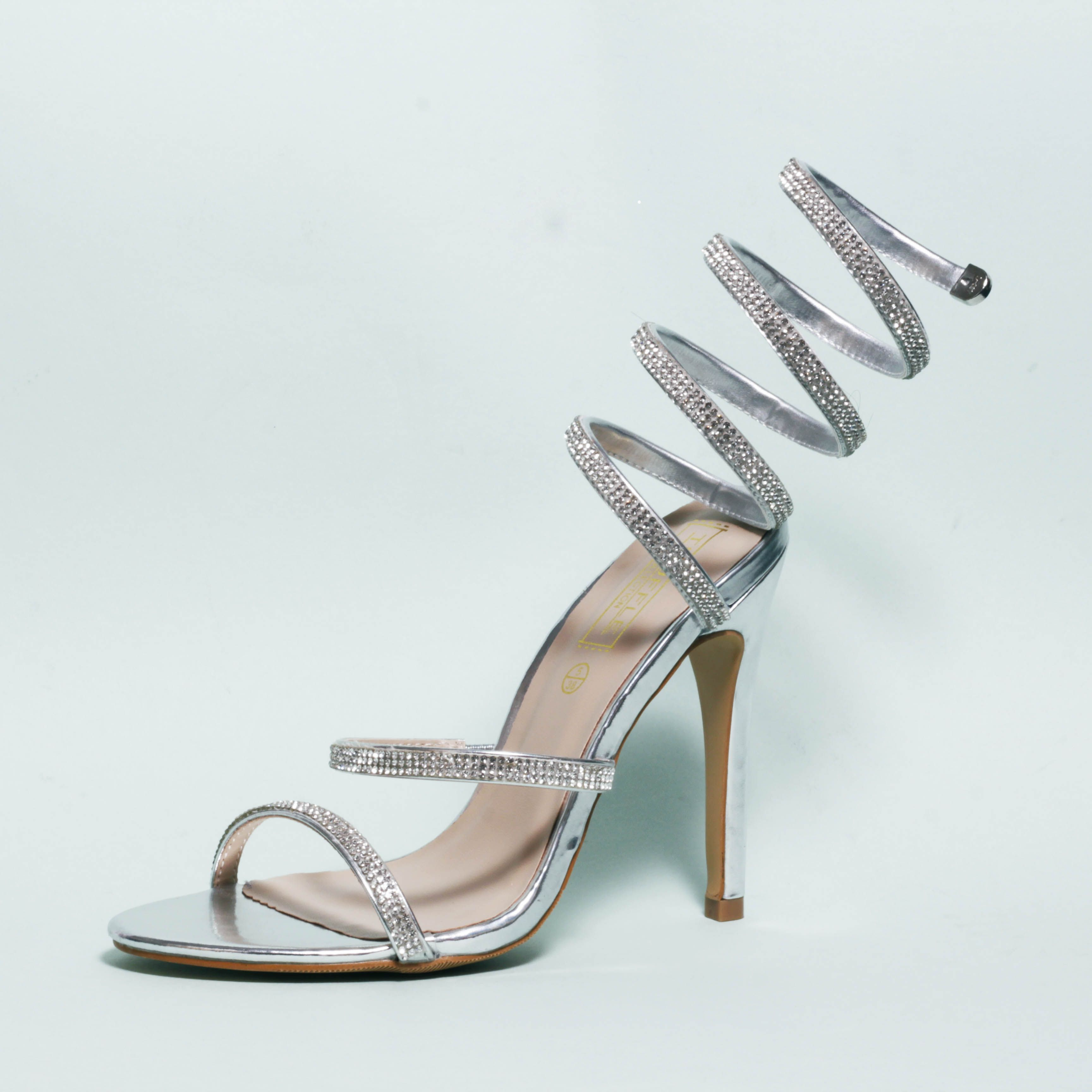 2d41aecfc675 yas girl channeling that 2000 era with these silver sparkly heels  korkys   korkysshoes
