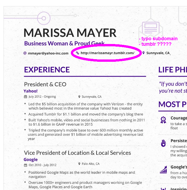 Yahoo Ceo Resume Template 2 Simple But Important Things To Remember About Yahoo Ceo Resume Good Resume Examples Resume Template Resume Examples