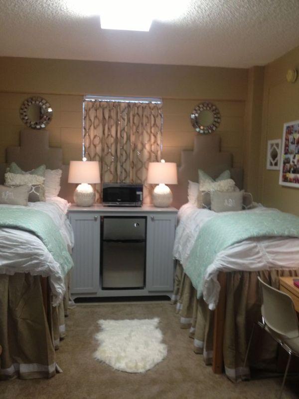 Martin Ole Miss Neutral Dorm Scheme Neat Bedside Cabinet