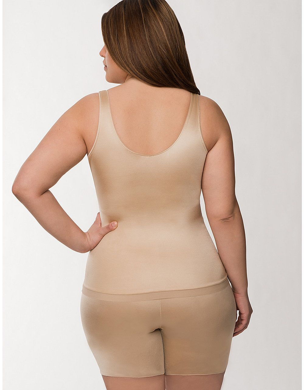 26f521671b Full figure Spanx Slimplicity Open Bust Camisole