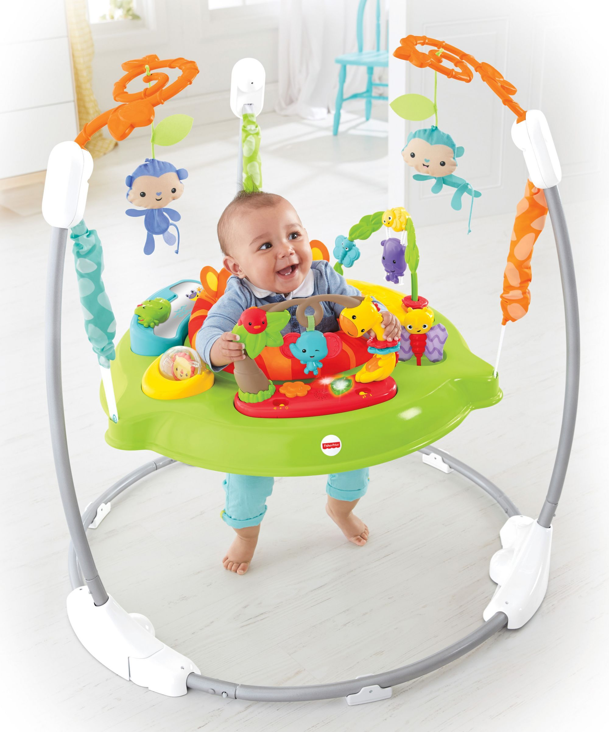 dd08bd1c9fc7 BOUGHT   Fisher Price Rainforest Jumperoo -Roaring (toys r us ...