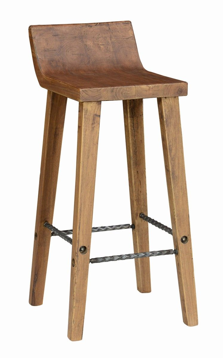 Classic Home Arturo Low Back Barstool 30 20735 Beach
