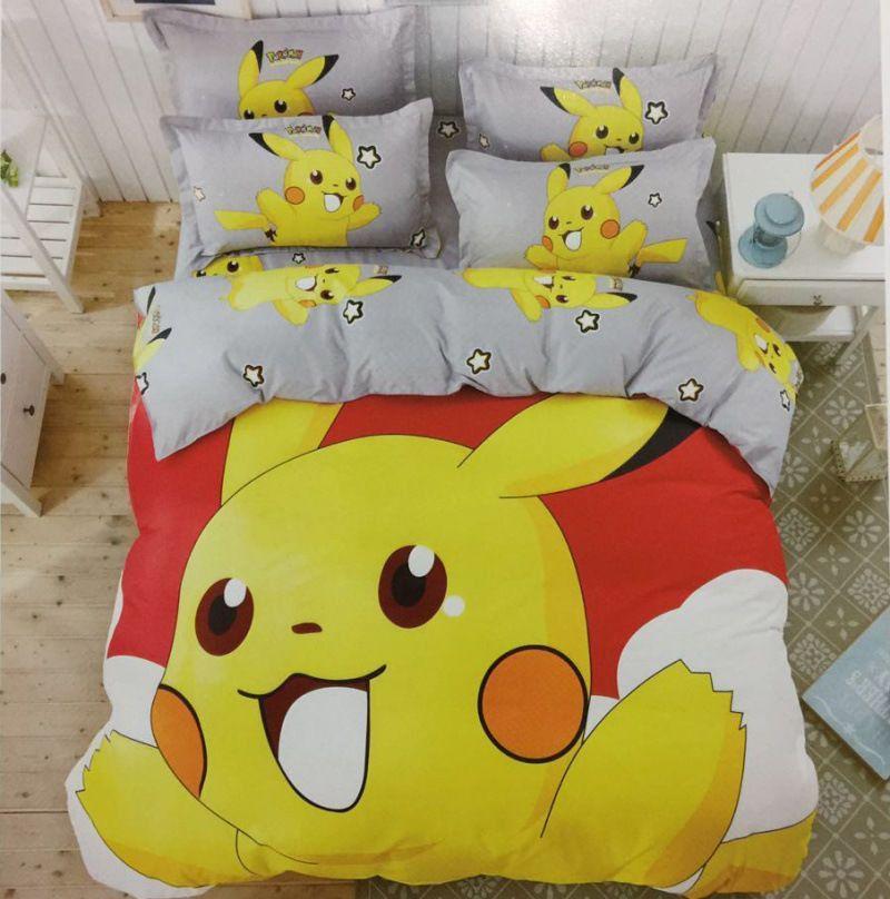 Pokemon Bedding Queen Sets, Pokemon Bedding Queen Size