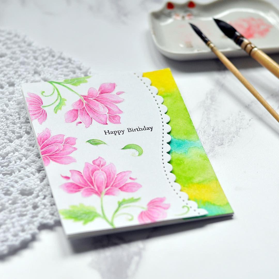 Birthday card for a crafty friend 😊cardmaking