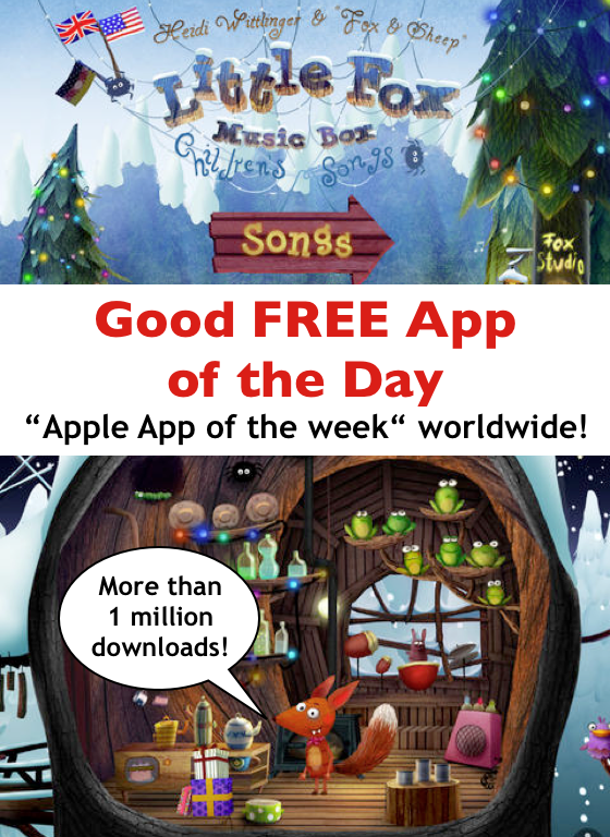 Good Free App of the Day Little Fox Music Box — Kids