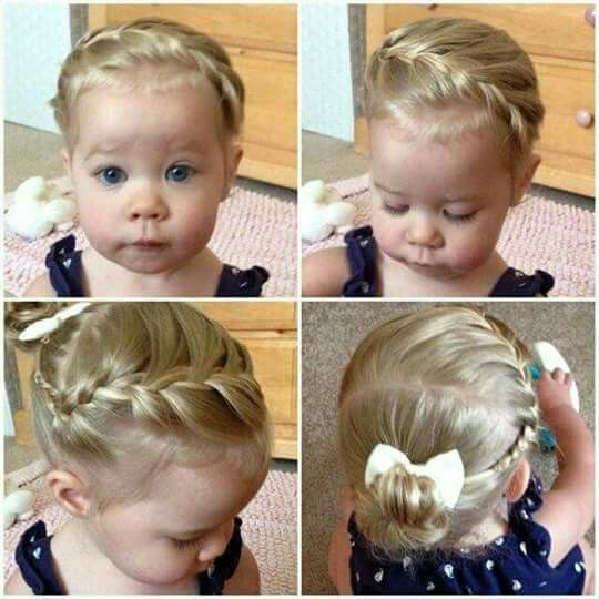 30 Toddler Hairstyles Way More Than I Ll Ever Do Awesome Tips On Keeping Them Distracted Too Tho Toddlerhairsty Frisur Kleinkind Baby Frisur Kinderfrisuren