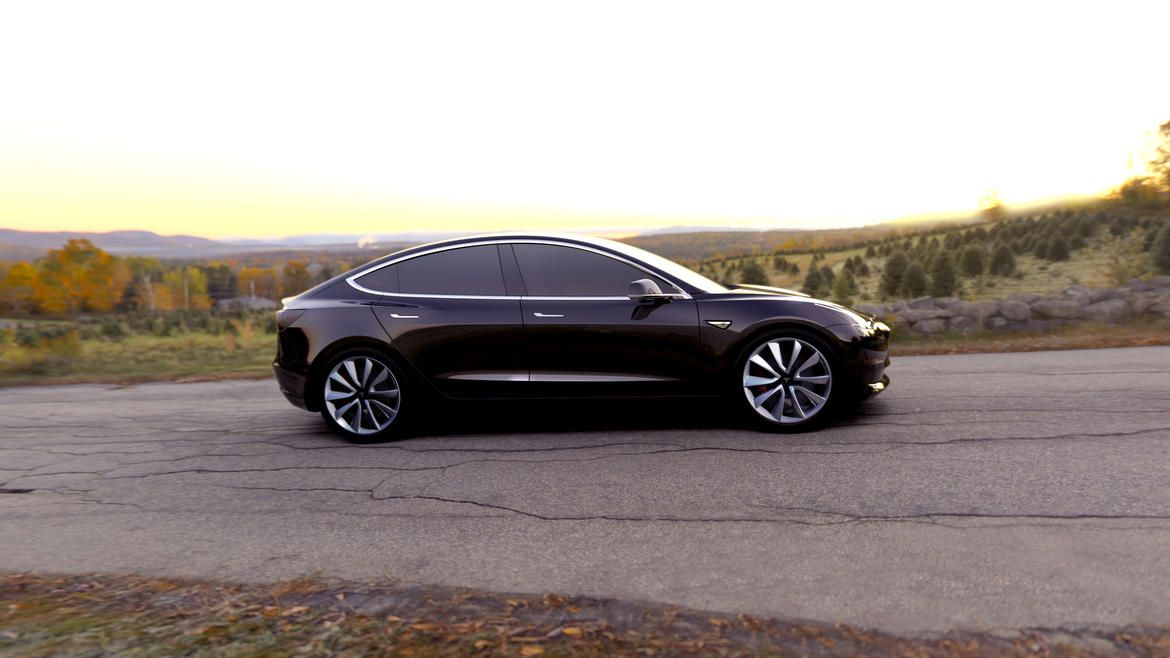 Tesla Motors unveils its fourth and most affordable vehicle to date, the 2018 Tesla Model 3 sedan.