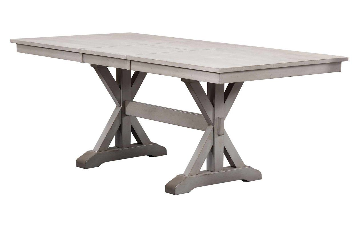 Rutledge Extendable Solid Wood Dining Table Dining Table Dining