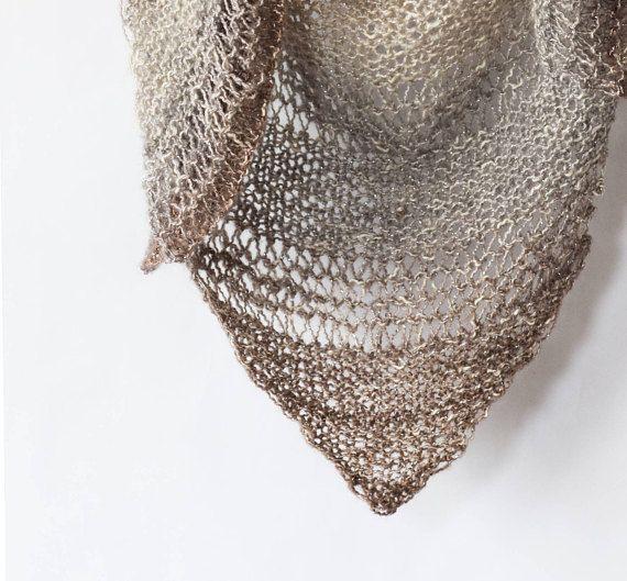 Knit Triangle Wrap Pattern Easy Knit Wrap Pattern Knit Shawl