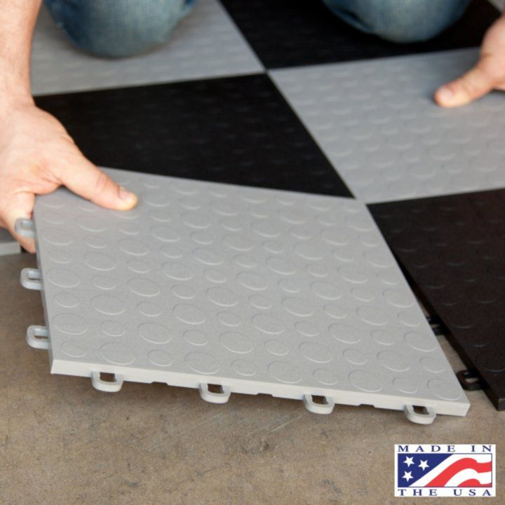 Modular Split Level Deck: Modular Interlocking Garage Floor Tiles