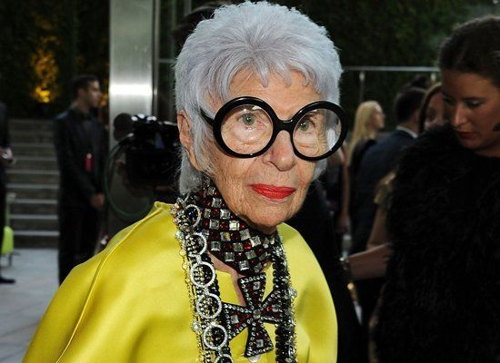 "At the age of 90, Iris Apfel has come into her own as a true fashion icon. Changed the game by: Proving fashion is ageless. She said it: ""Taste you can learn, but style is like charisma. You know it when you see it."""